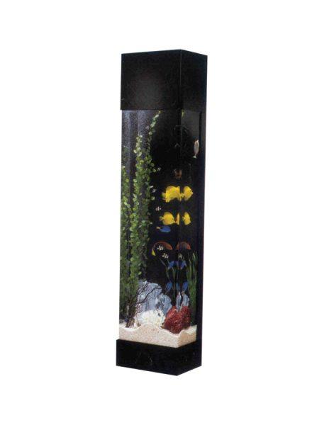Stačiakampis-akvariumas-bokštas